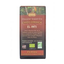 Hořká čokoláda s Maca BIO 56% kakaa 100g Salute Livi