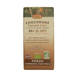 Bílá čokoláda BIO 40% kakaa 100g Salute Livi