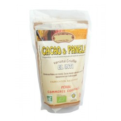 Kakao Criollo s přírodním sladidlem Panela BIO 250g Saldac