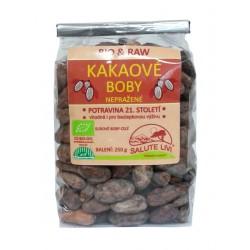 Kakaové boby nepražené Bio 250g Salute Livi