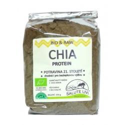 RAW Proteinový prášek z chia semen BIO 250g Salute Livi