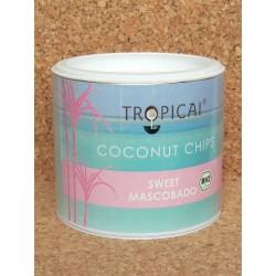 Kokosové chipsy Sweet Mascobado BIO 120g