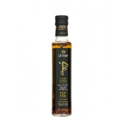 Olivový olej s chilli paprikou 250ml Critida