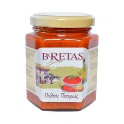 Kápiová pomazánka se sýrem Myzithra 180g Bretas