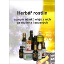 Herbář rostlin a popis olejů