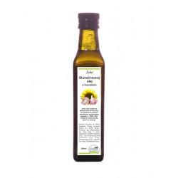 Slunečnicový olej s česnekem 250ml Solio