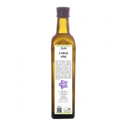 Lněný olej 500ml Solio