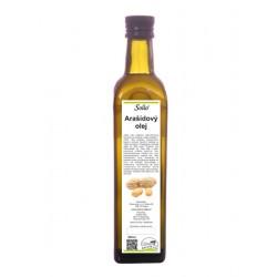 Arašídový olej 500ml Solio