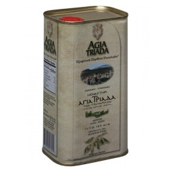 Extra panenský olivový olej Agia Triada 1l plech