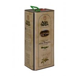 Extra panenský olivový olej Agia Triada 5l plech